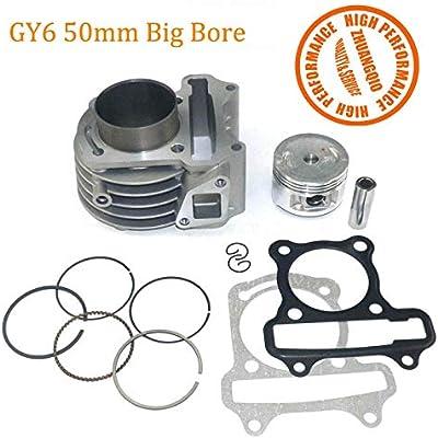 Hastings 2M5521040 Piston Ring Set 4.040 1//16 1//16 1//8 Chevy Ford SBC SBF