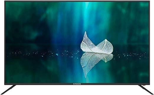 Crown Smart TV LED 4K de 58 Pulgadas – Android 7.0 OS – WiFi Integrado – Hebreo Manu: Amazon.es: Electrónica