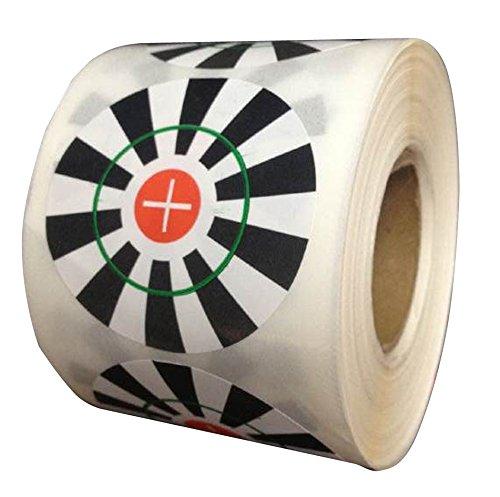 Shooting Targets Gun Range Pasters 2 Inch Circle 250 Total Adhesive Stickers