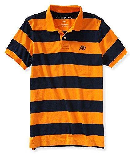 Aeropostale Mens Striped Rugby Shirt