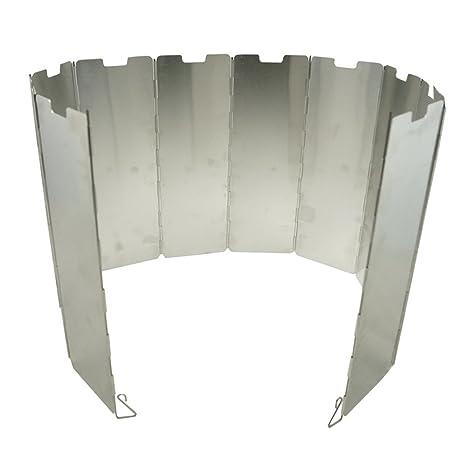 EXQUILEG Aluminio Protector de Viento, Plegable Parabrisas: para ...