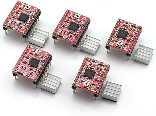 ZYAMY HR-A4988 - Juego de 5 accesorios para impresora 3D (1,4 ...