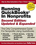 img - for Running QuickBooks in Nonprofits: The Only Comprehensive Guide for Nonprofits Using QuickBooks by Ivens, Kathy (December 1, 2005) Paperback book / textbook / text book