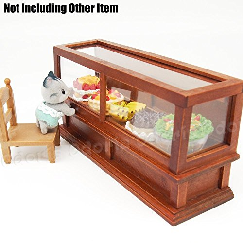 Dollhouse Miniature Kitchen Wood Wall Rack 1:12 Doll House Decor Accessorie FJ