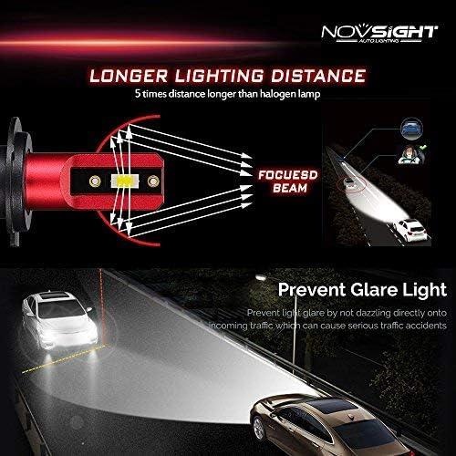 Jaguar XK8 White LED /'Trade/' Wide Angle Side Light Beam Bulbs Pair Upgrade