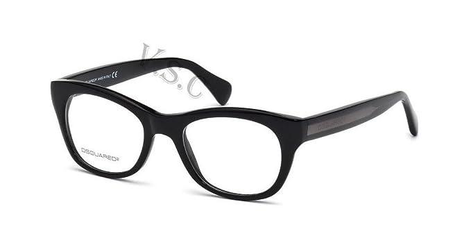 Amazon.com: Dsquared dq5106 Gafas de Ojo de anteojos 5106 ...