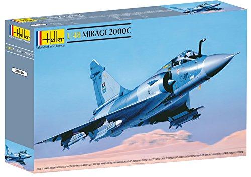 - Heller Mirage 2000 C Airplane Model Building Kit