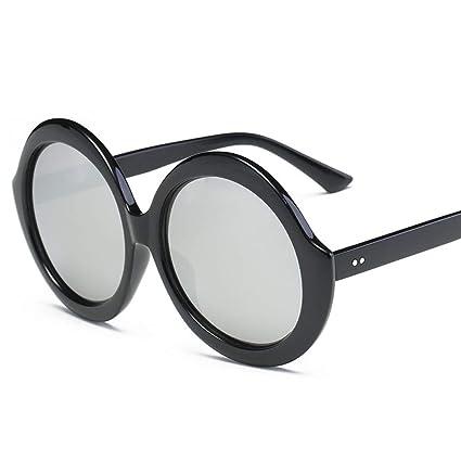 Taiyangcheng Gafas Redondas para Mujeres Gafas de Sol de ...