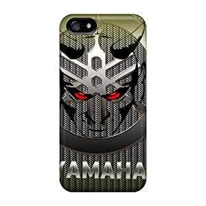 Anti-Scratch Hard Phone Case For Iphone 5/5s (fcM15345QYPF) Unique Design Vivid Yamaha Pattern
