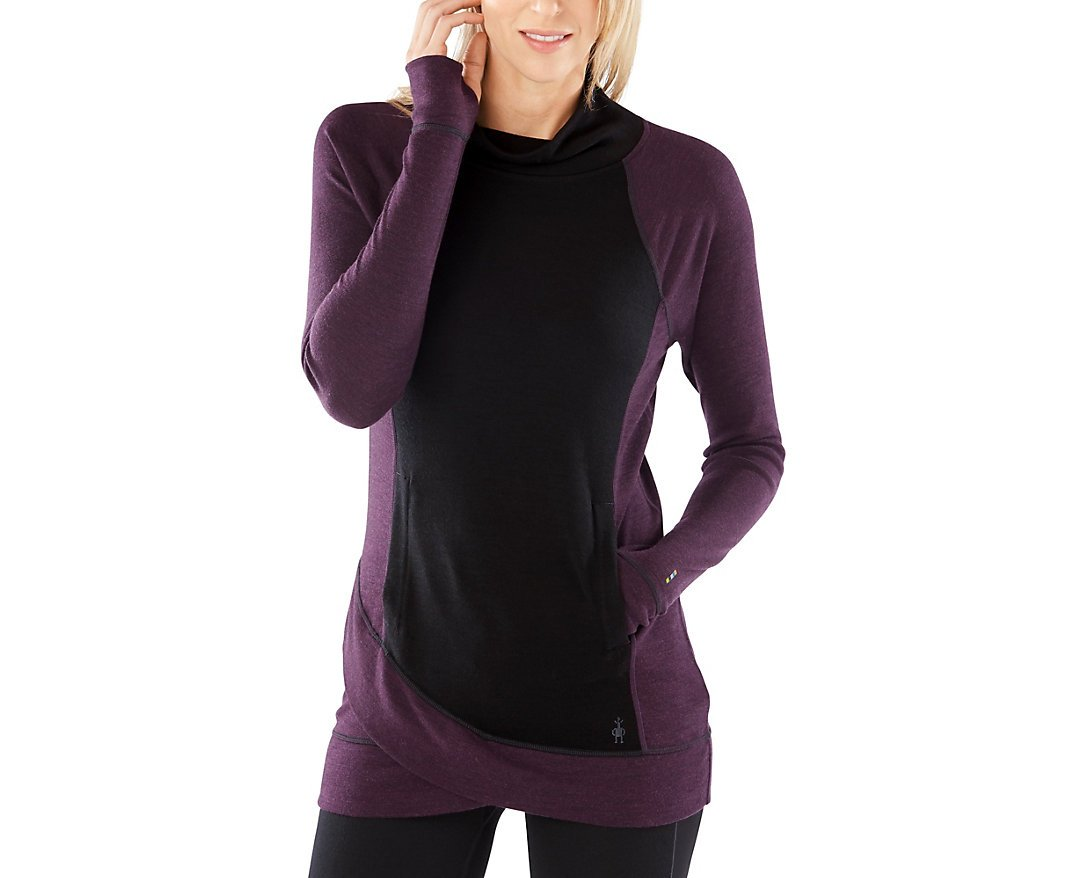Smartwool Women's Merino 250 Tunic (Black) X-Large by SmartWool