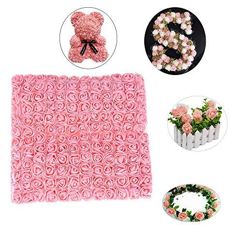 Susens PE Foam Artificial Flowers Fake Rose Bouquet DIY Wedding Party Home Decoration Artificial Flowers