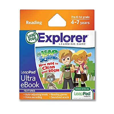 LeapFrog LeapPad Ultra eBook: LeapSchool How Not to Clean Your Room (works with all LeapPad Tablets): Toys & Games