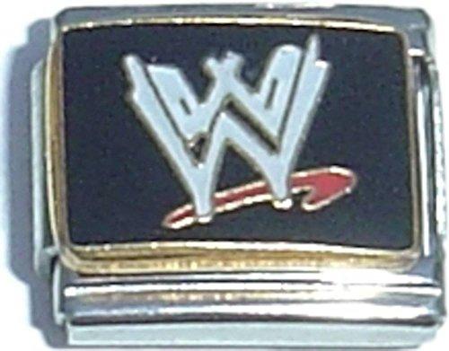 WWE Logo Italian Charm (Pendant Wwe)