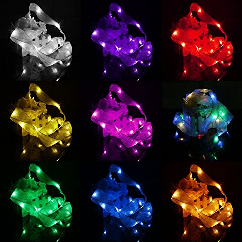 Lights & Lighting - 3m 30 Led Ribbon String Fairy Light Battery Powered Party Xmas Wedding Decoration Lamp - Ribbon Led String Lights Decorate Rope Colorful Silk Light Cosmos - 1PCs