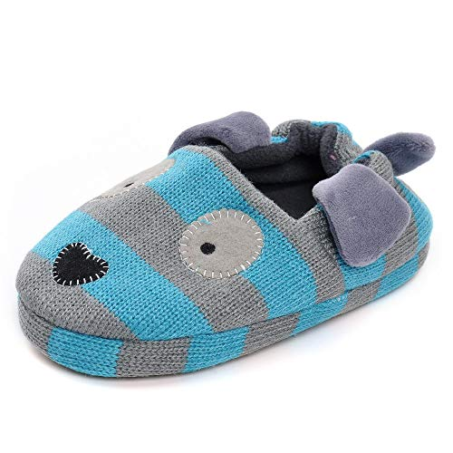 Estamico Toddler Boys' Doggy Slipper Us 11-12