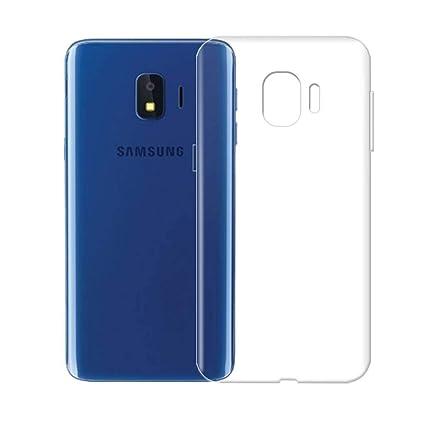 super popular 0bcfc 4993e NTV Samsung Galaxy J2 CORE Transparent Back Cover: Amazon.in ...