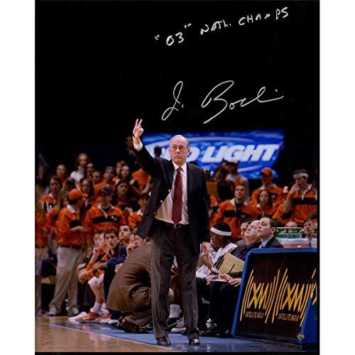 Jim Boeheim Signed