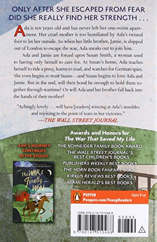 The War That Saved My Life by Puffin Books (Image #1)