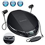 Best Compact Cd Players - Portable CD Player for Car HiFi Lossless Small Review