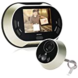 3.5¡± Digital LCD Visual Snapshot Peephole Doorbell Viewer Video Camera 150¡ã View Angle support IR Night Vision Don¡¯t Disturb