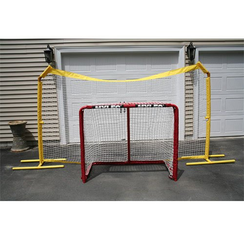 Mylec All Purpose Portable Backstop, Yellow by Mylec