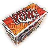 BCW Art POW! Short Comic Storage Box | Holds