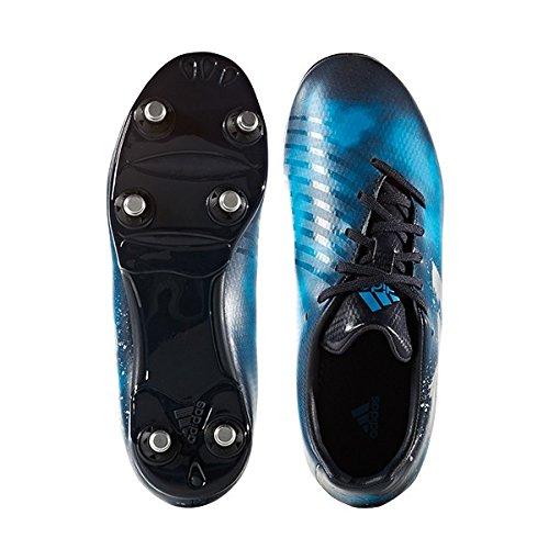 adidas Malice SG J - Botas de rugbypara niños, Azul - (MAOSNO/PLAMET/AZUSOL), -4