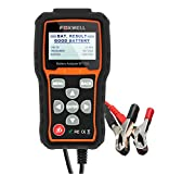 FOXWELL BT705 12V&24V 100-2000 CCA Car Battery Load Tester, Cranking and Charging System Diagnostic Analyzer with 7.8ft Tester Cable