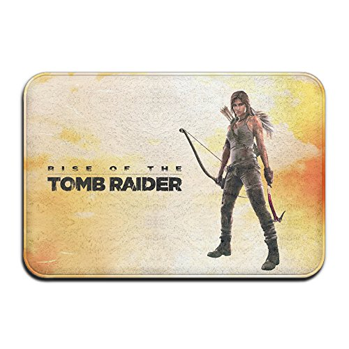 Price comparison product image Rise Of The Tomb Raider Logo Doormat 60cmX40cmX1cm