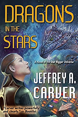 book cover of Dragons in the Stars
