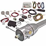 AutoLoc Power Accessories 89811 Yellow/Amber One Touch Engine Start Kit with RFID, Column Insert/Remote