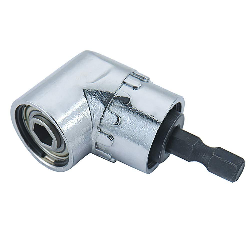 und magnetischen Bithalter Winkelschraubendreher Winkelgetriebe 105 /°Angle Bit Halter F/ür das Bohren von Narrow Space Zihuist Winkelschrauber Vorsatz Adapter 1//4 Zoll Schnellwechsel