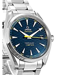 Omega Seamaster James Bond Limited Edition Aqua Terra Blue Dial Stainless Steel Automatic Mens Watch 231.10.42.21.03.004