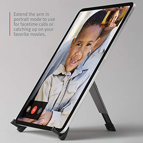 Twelve South Compass Pro for iPad | Portable Display Stand with 3 Viewing/Typing Angles iPad and iPad Pro by Twelve South (Image #4)