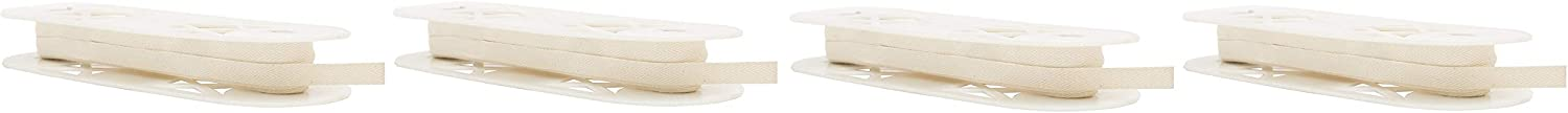 Wright Products Simplicity Twill Tape 1//2 X18yd Ivory
