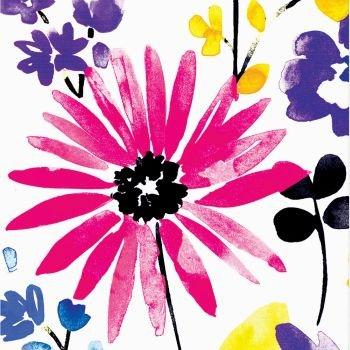 Creative Converting 18 Count Beverage Napkins, Garden Blooms
