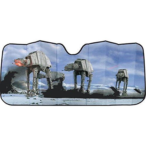 Plasticolor 003724R01 Star Wars Hoth Scene Accordion Bubble Sunshade (Auto Shade Star Wars compare prices)