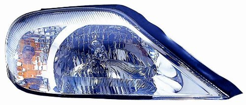 Depo 331-1176L-ASN Mercury Sable Driver Side Replacement Headlight Assembly (Mercury Driver Sable)