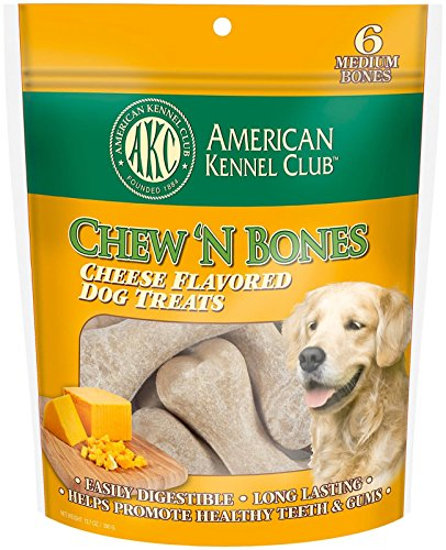Image of American Kennel Club Chew N' Bones Dog Treats - Cheese