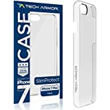 Tech Armor SlimProtect Case for Apple iPhone 7 Plus/iPhone 8 Plus, Scratch/Impact Protection (Clear)