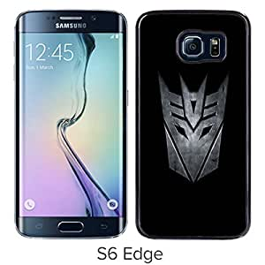 Beautiful Designed Case With Transformers Decepticon Black For Samsung Galaxy S6 Edge Phone Case
