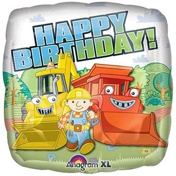 18 Bob The Builder Birthday Balloon 1 Ct Amazon Co Uk