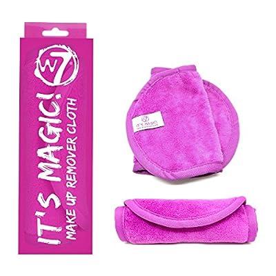 W7- Paño para quitarse el maquillaje, con texto en inglés «it 's Magic»
