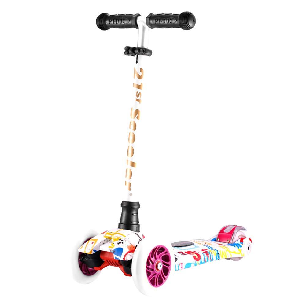 HH スクーター スタントスクーター、4輪フラッシュのキックスクーター、3歳以上の子供向けのクラシックスクーター、ランドサーファースポーツアウトドア B07KWRJMNB