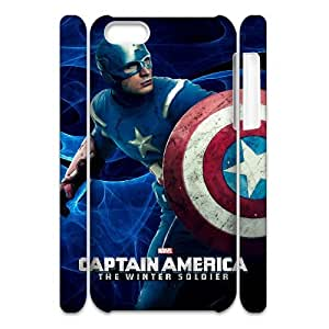 J-LV-F Customized 3D case Captain America for iPhone 5C