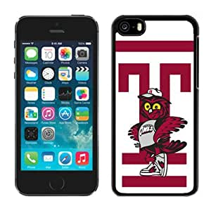 Iphone 5c Case Ncaa AAC American Athletic Conference Temple Owls 7 Pensonalized Phone Covers Apple Phone Cases