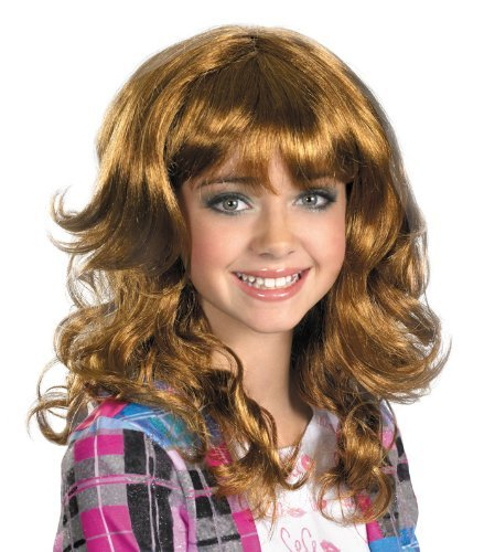 Disguise Disney Shake It Up Cece Wig Costume Accessory, One Size Child by -