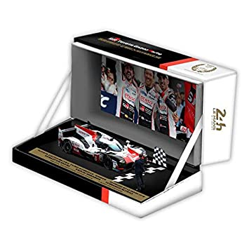 Réplica 1:43 Toyota Gazoo Racing WEC TS050 Hybrid #8 24h Le Mans