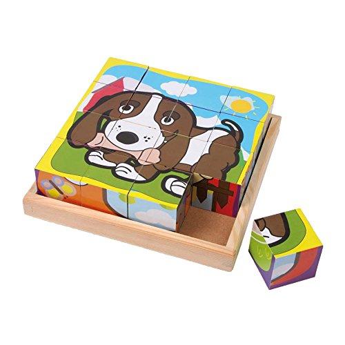 (Legler Cube Pets Wooden Puzzles)