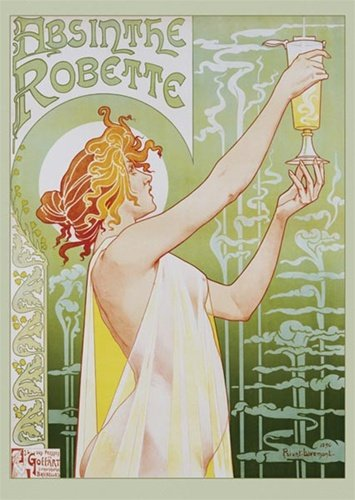 Absinthe Robette Mini Poster 16 x 20in